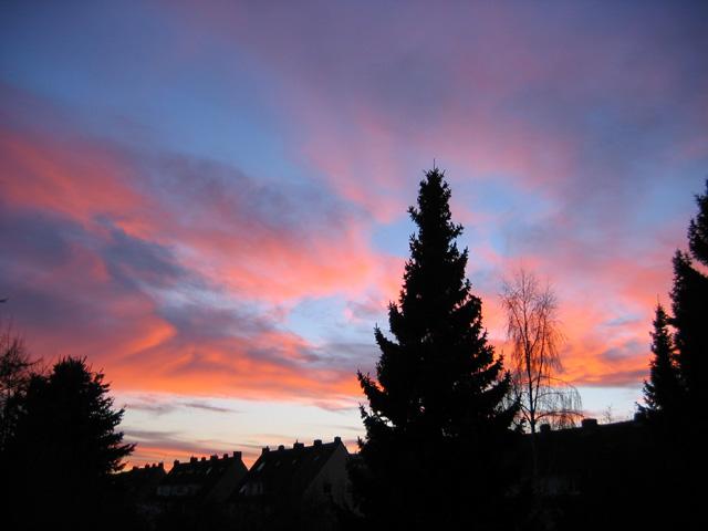 25.12.2005  Abendrot