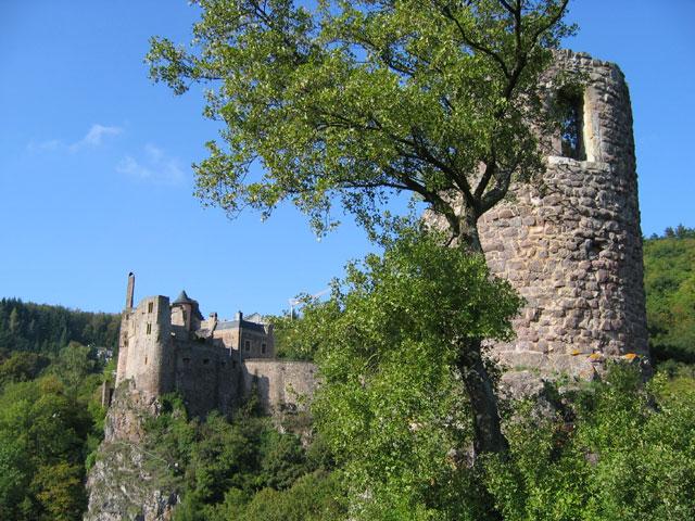 10.10.2006  Burg Bosselstein, Schloss Oberstein