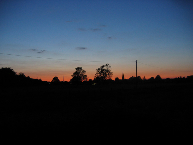 11.05.2008  Abendrot