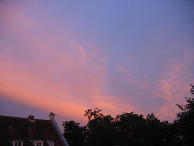 17.07.2009  Abendhimmel