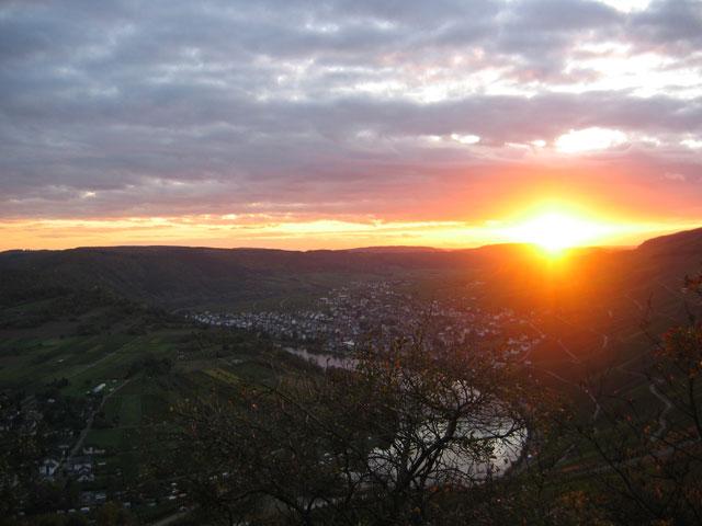 12.10.2009  Sonnenuntergang