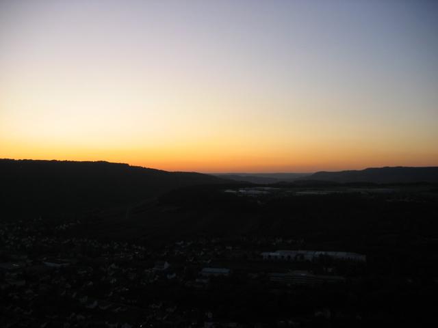 15.10.2009  Sonnenuntergang