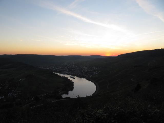 11.10.2010  Sonnenuntergang
