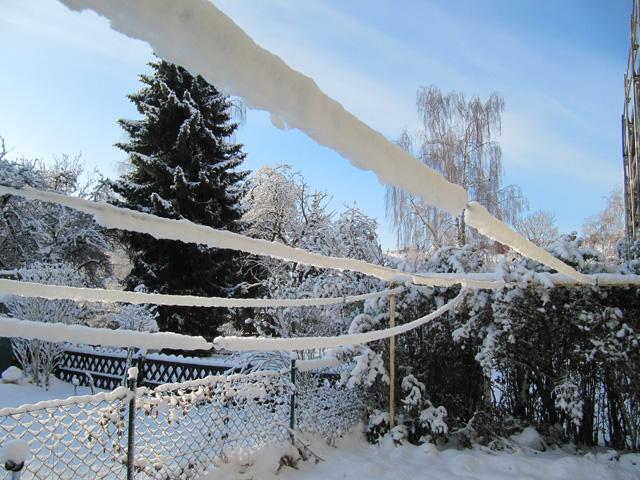 18.12.2010  Wäscheleine