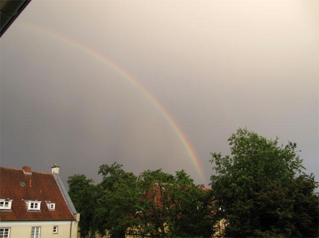 19.06.2011  Regenbogen