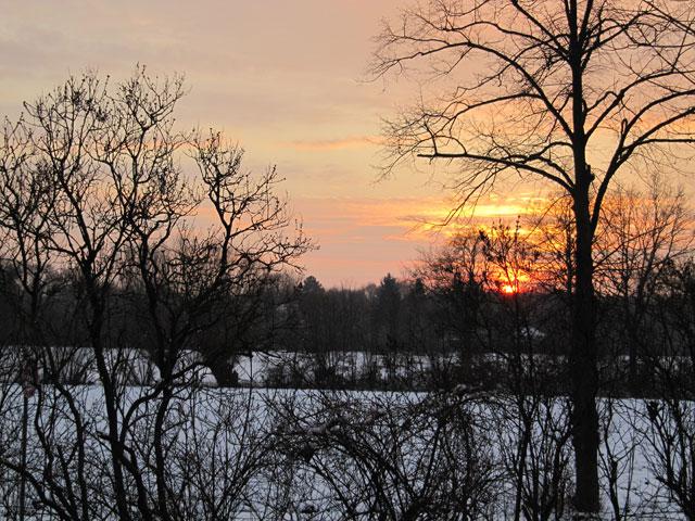 12.12.2012  Sonnenuntergang