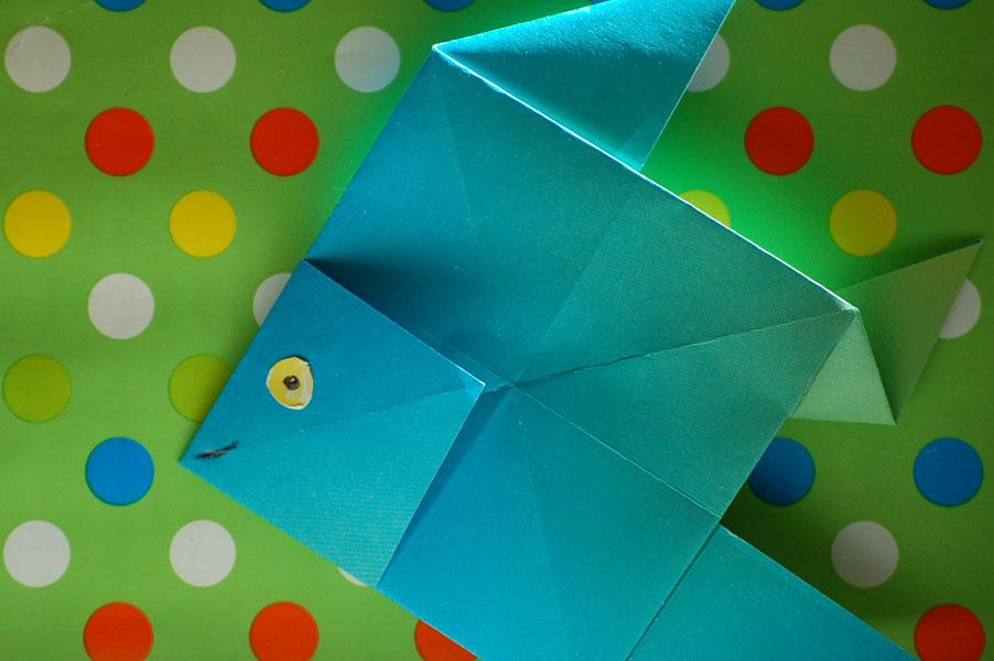 27.07.2015  Origami-Fisch