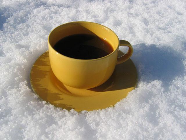 29.01.2005  Kaffee im Schnee