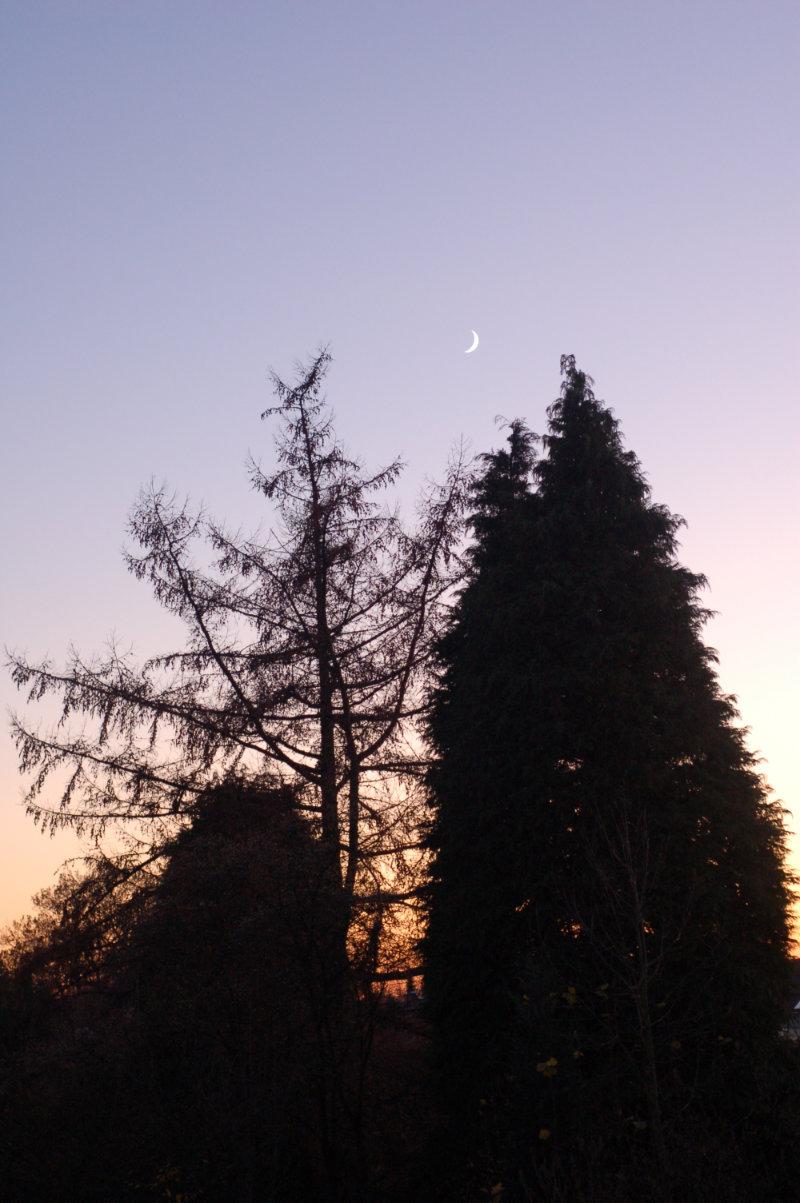 22.11.2017  Sonnenuntergang